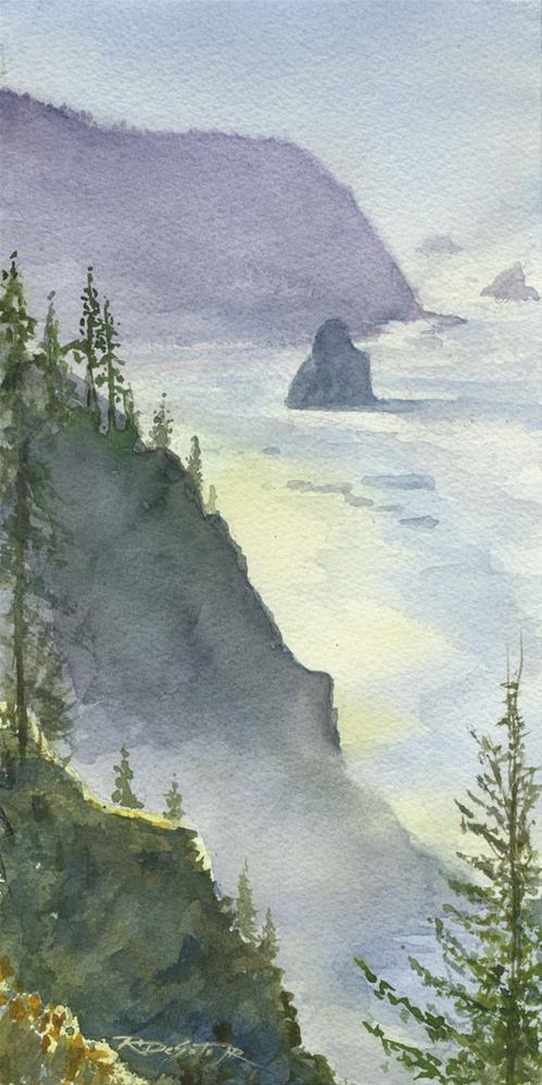 """South Oregon Coast"" original fine art by Rafael DeSoto Jr."