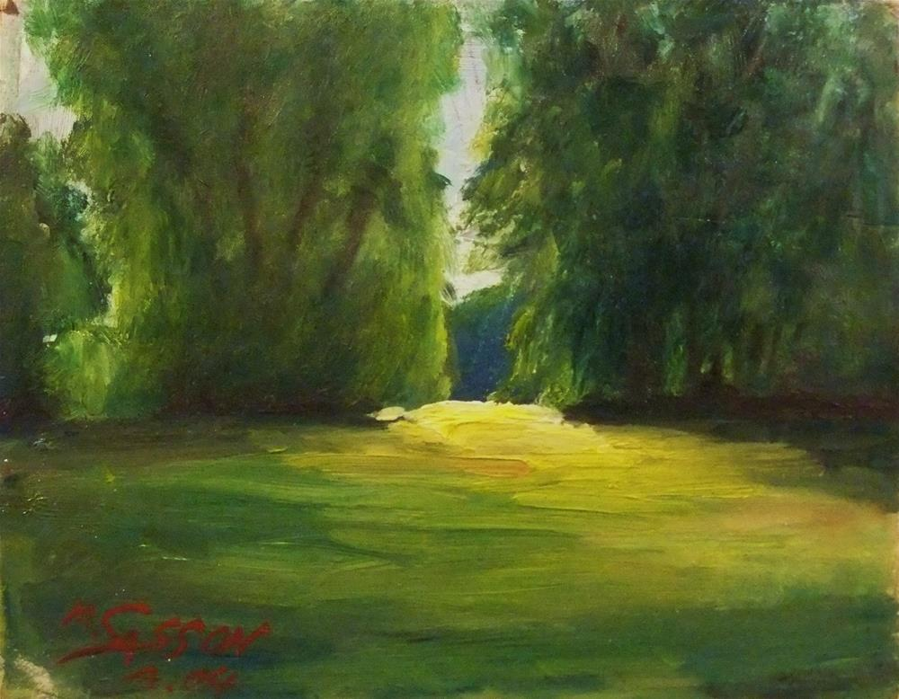 """""""One of the first"""" original fine art by Michael Sason"""