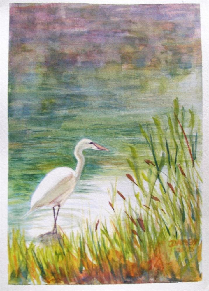 """""""Morning Stroll"""" original fine art by Lynn Darby"""