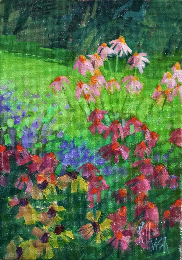 """""""Into the Clear Air"""" original fine art by kathy hirsh"""