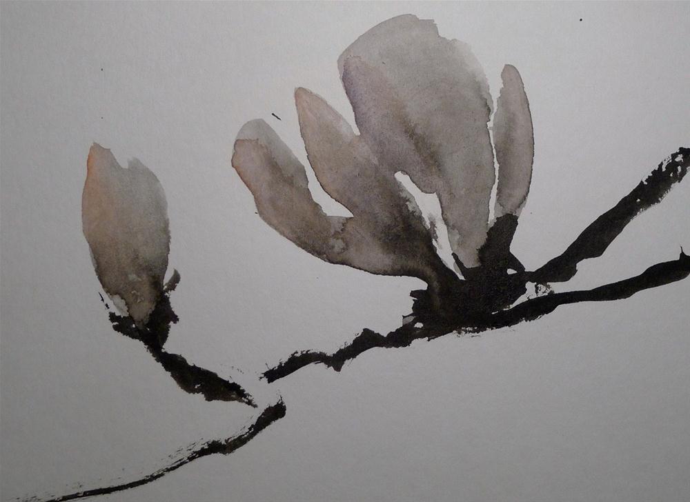 """""""Magnolia"""" original fine art by Ulrike Schmidt"""