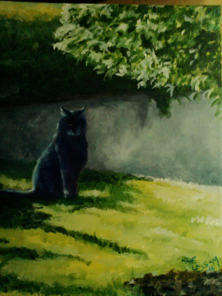 """Gainesville Feral"" original fine art by Kate Less-Madsen"