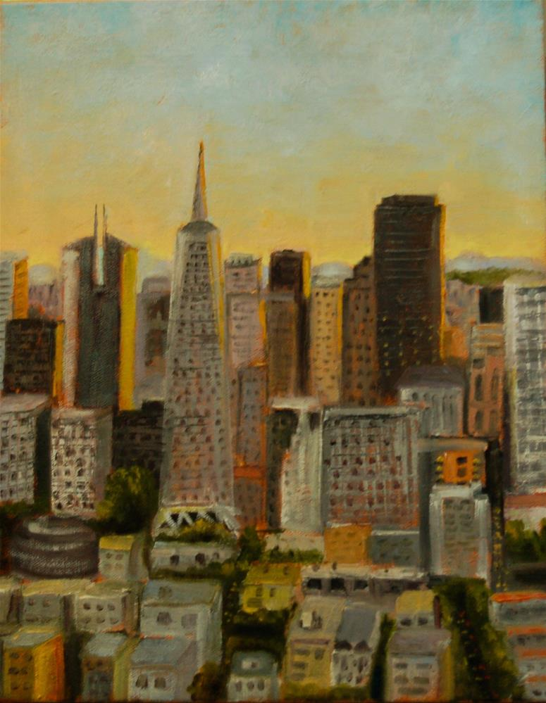 """""""View from the Top"""" original fine art by Carol Pighin"""