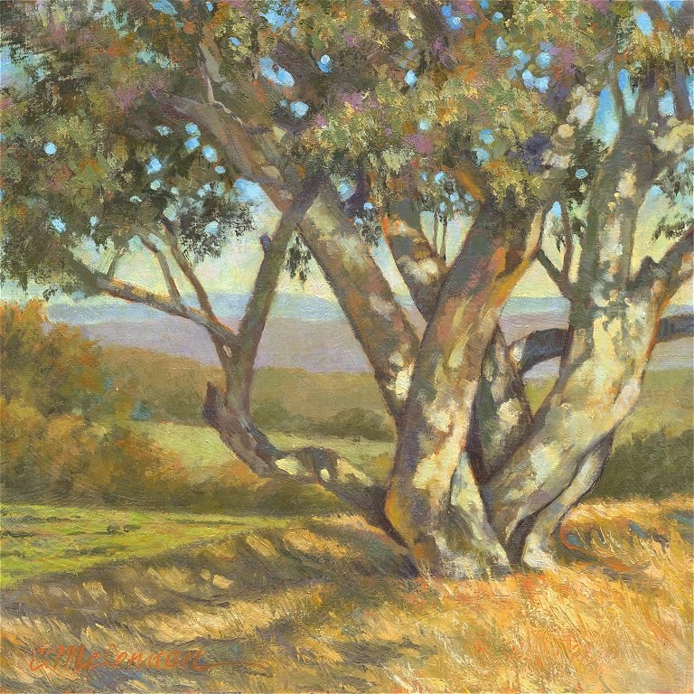 """Foothill Sentinel"" original fine art by Connie McLennan"