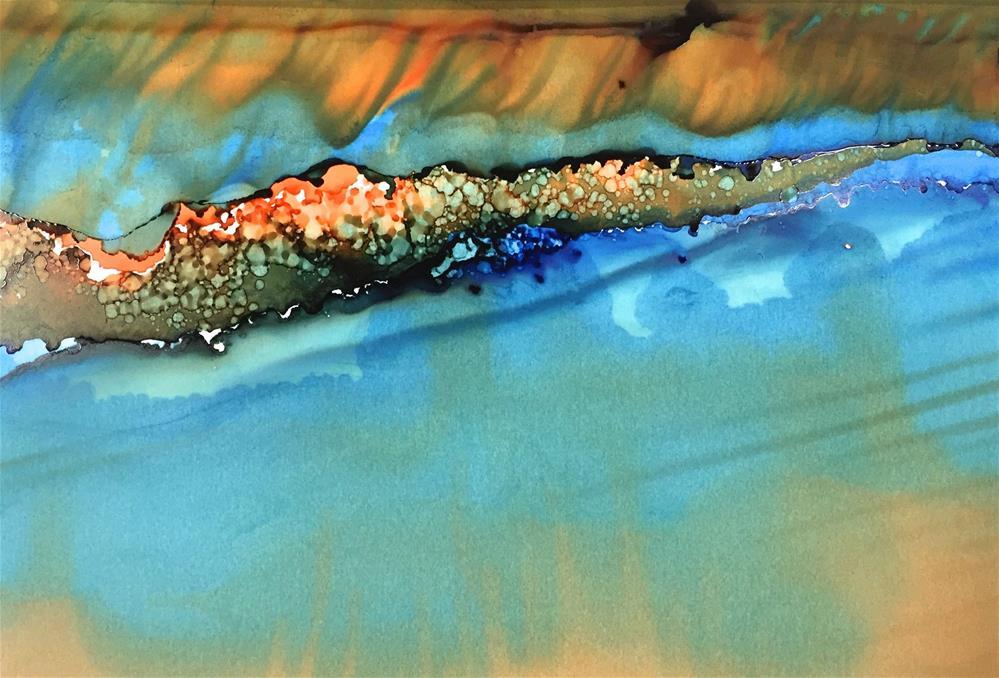 """Peninsula"" original fine art by Karen Wysopal"