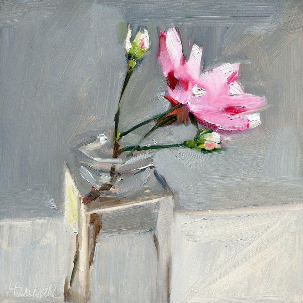 """Patty's Roses"" original fine art by Gretchen Hancock"