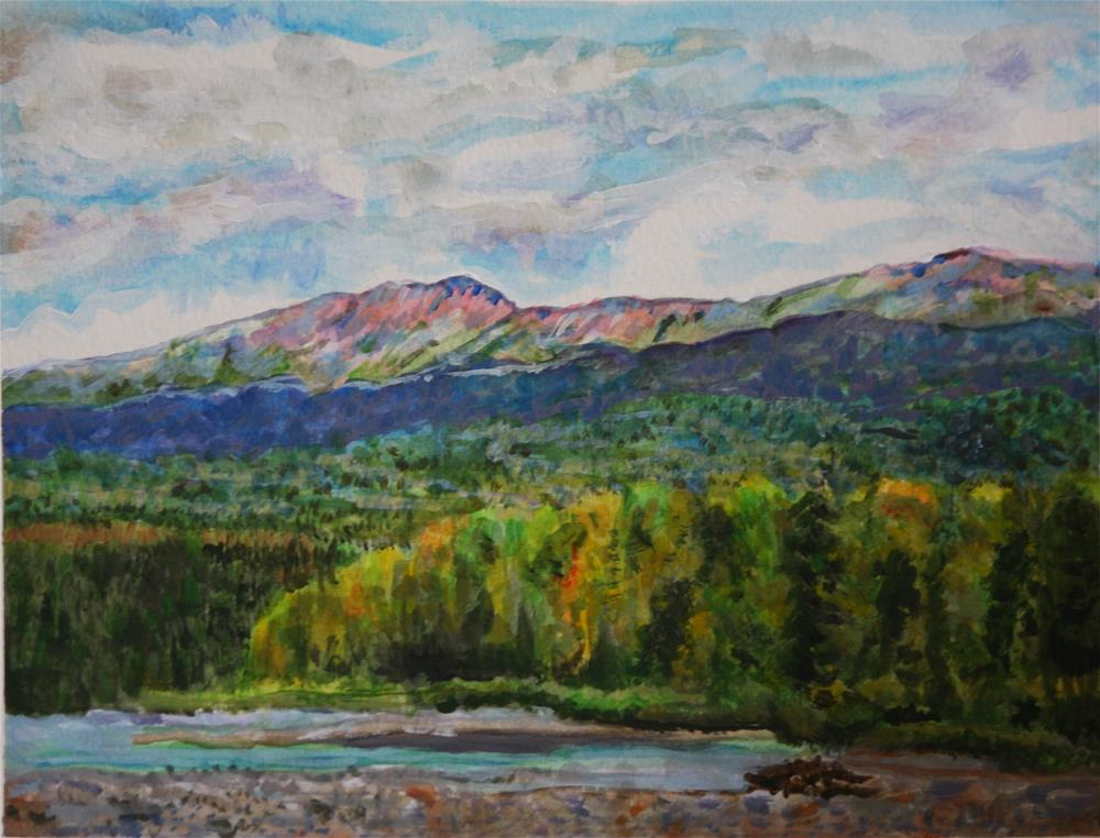 """Anderson Flats"" original fine art by Terri-Anne Barge"