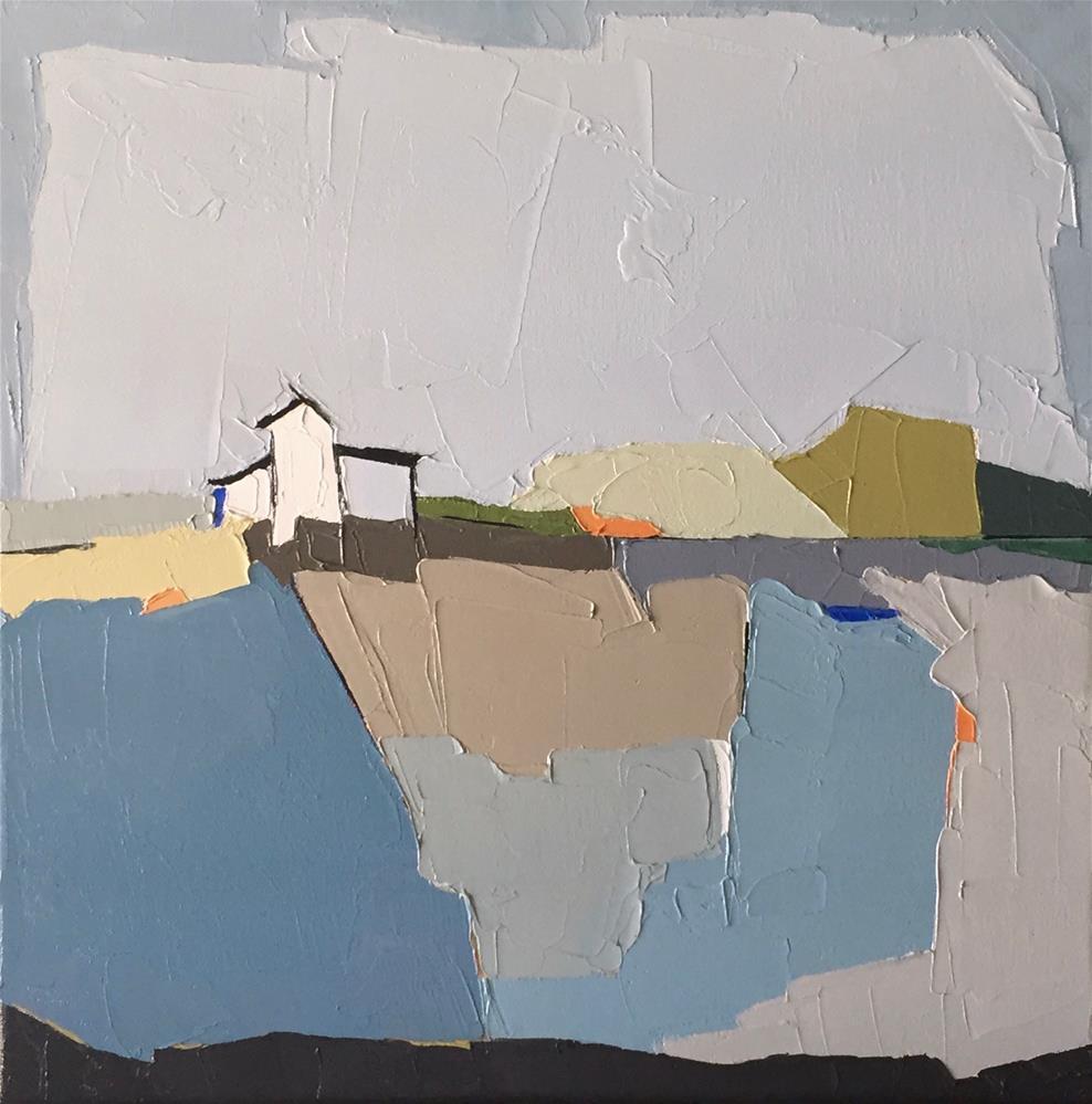 """Rural Perspective"" original fine art by Donna Walker"