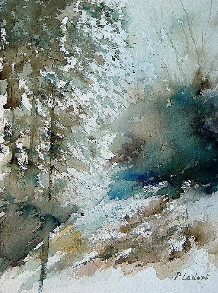"""""""watercolor 301005"""" original fine art by Pol Ledent"""