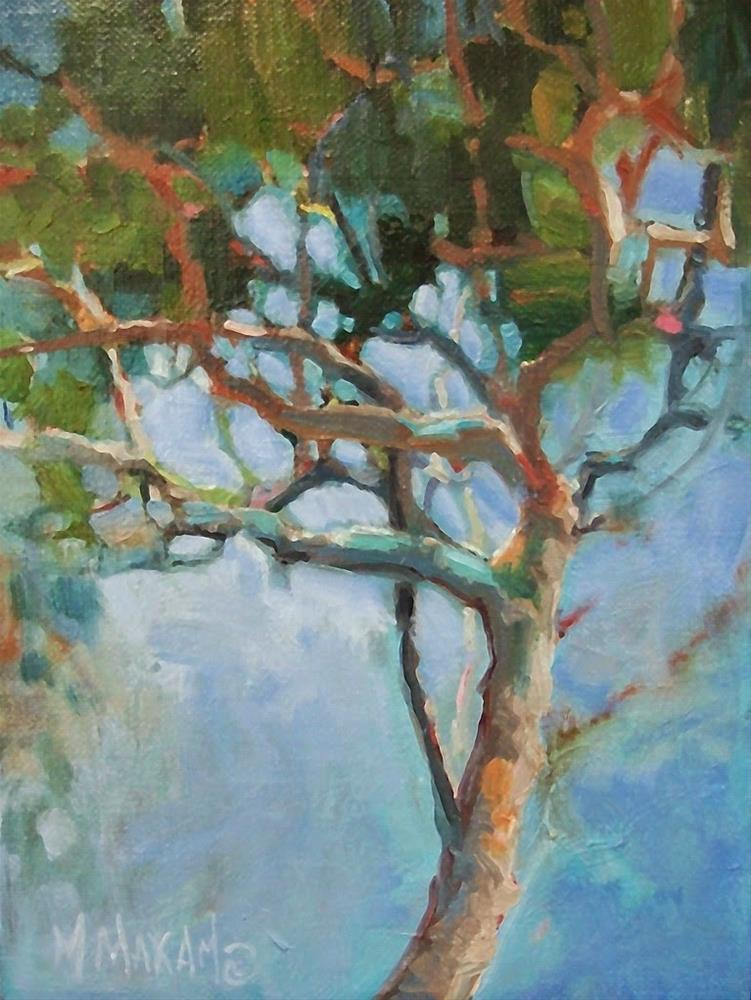 """""""The Places In-Between"""" original fine art by Mary Maxam"""
