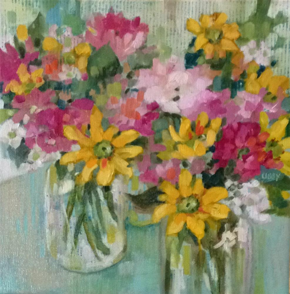 """""""Best of Luck"""" original fine art by Libby Anderson"""