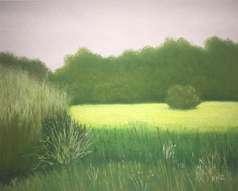 """Lafitte's Cove Bird Sanctuary"" original fine art by Howard Clark"
