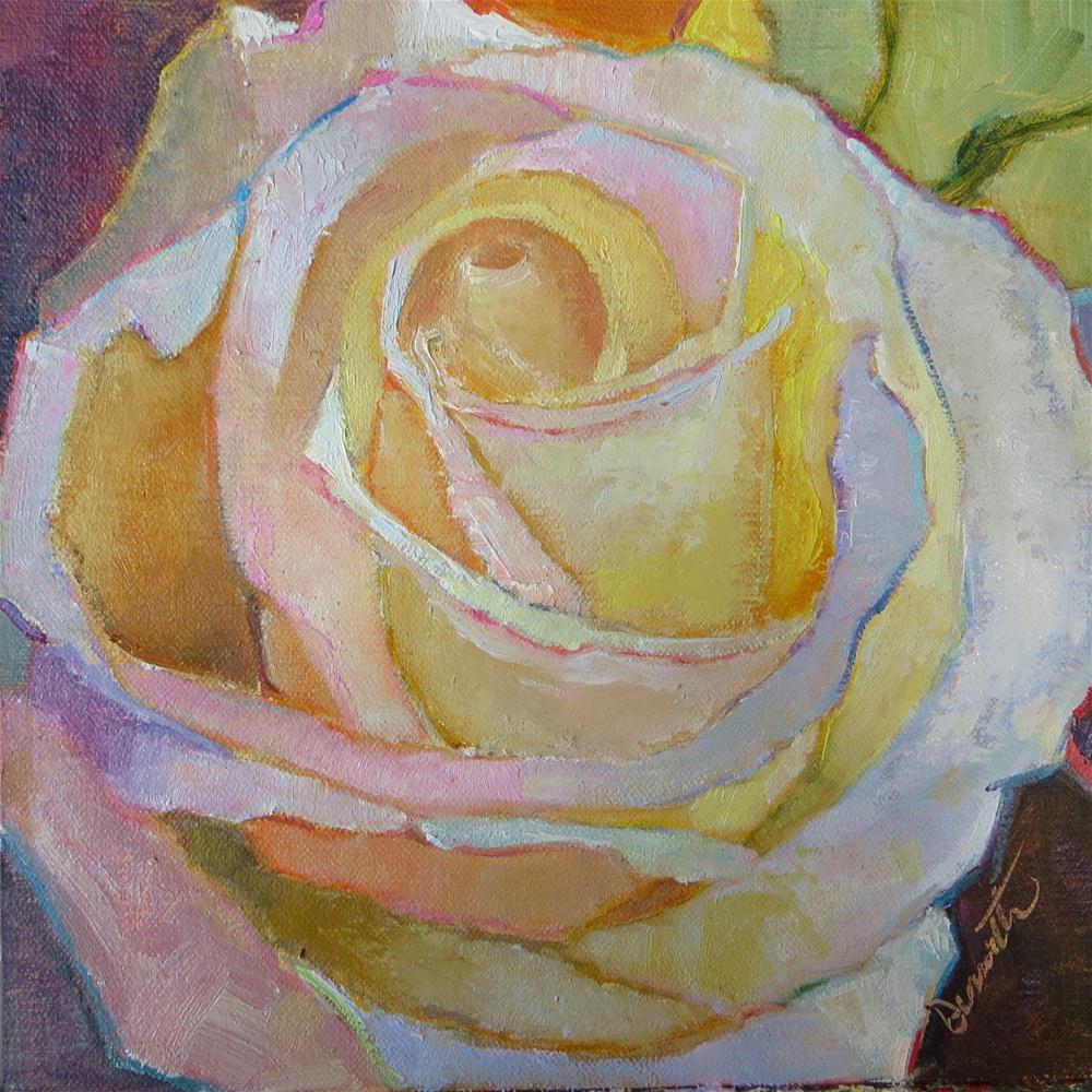 """""""Ivory Velvet"""" original fine art by Scarlet Owl Studio"""