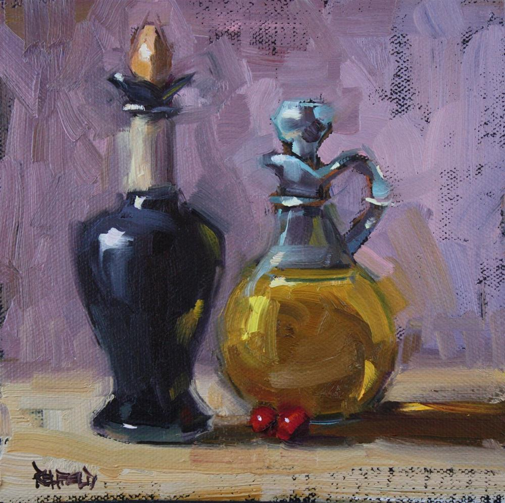 """The Cranberries..."" original fine art by Cathleen Rehfeld"