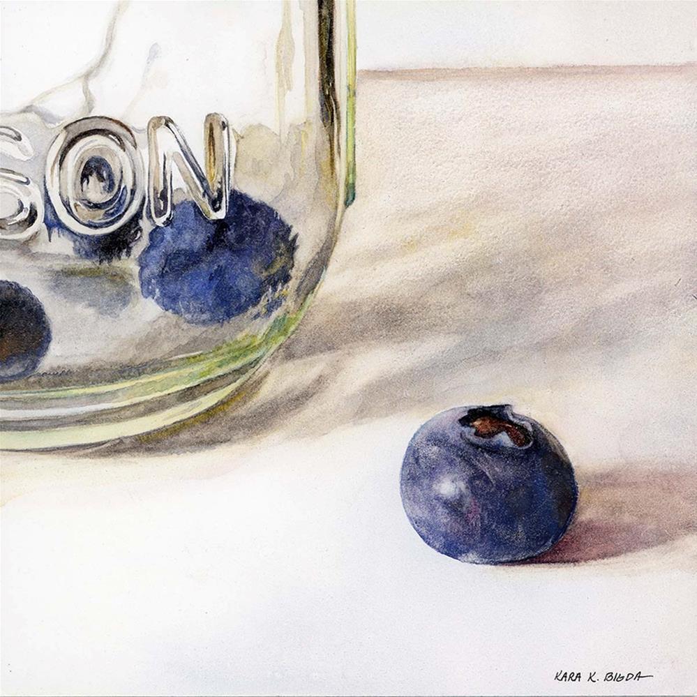 """Glass Houses"" original fine art by Kara K. Bigda"