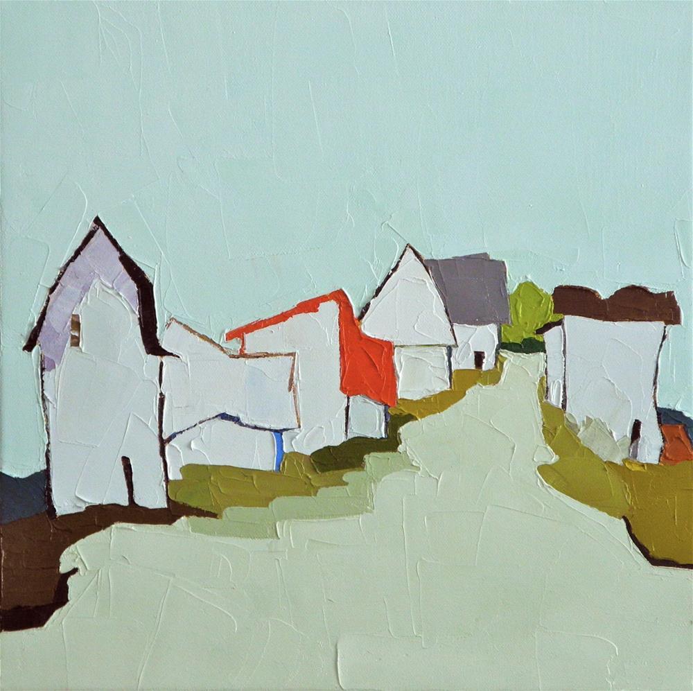 """The Broken Road"" original fine art by Donna Walker"