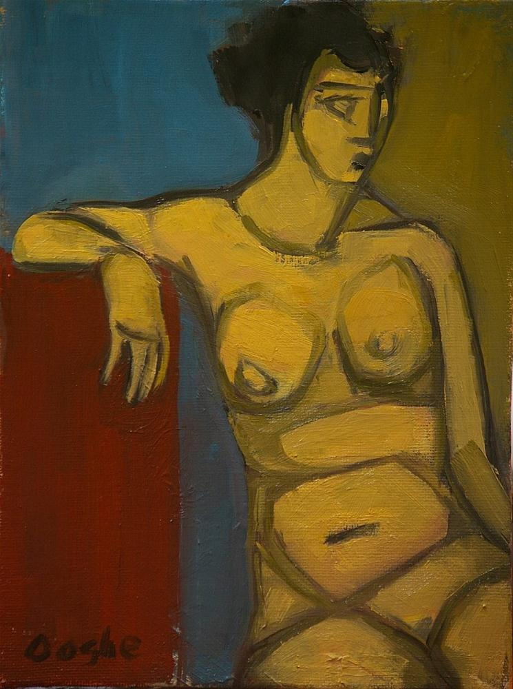 """Nude Shapes"" original fine art by Angela Ooghe"