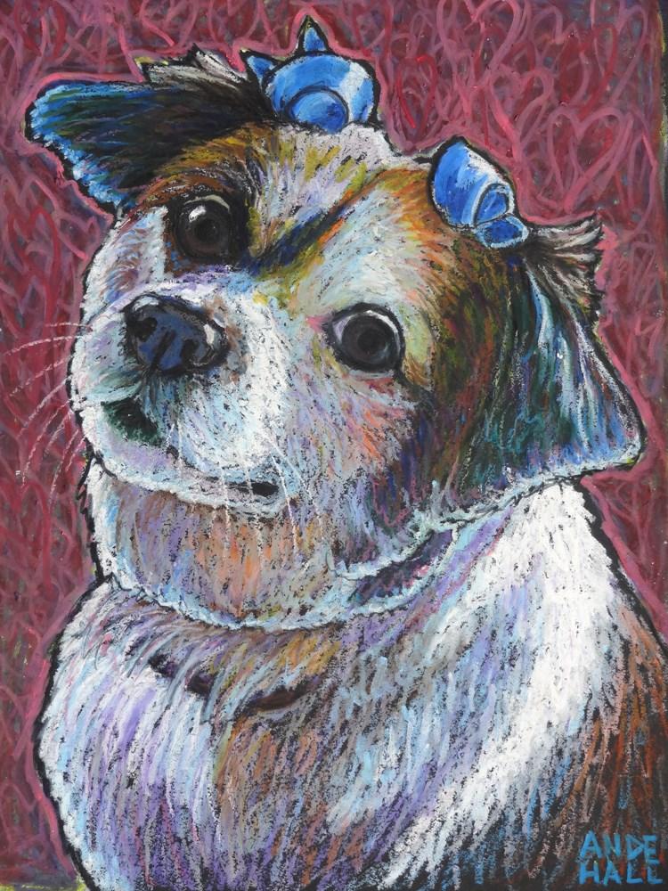 """PennyBaby"" original fine art by Ande Hall"