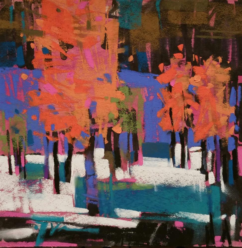 """Blewett Meadow"" original fine art by Jennifer Evenhus"