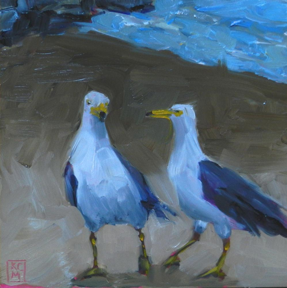"""Correction!"" original fine art by Kelley MacDonald"