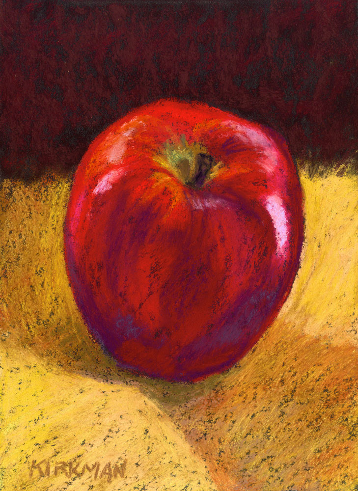 """An Apple a Day"" original fine art by Rita Kirkman"