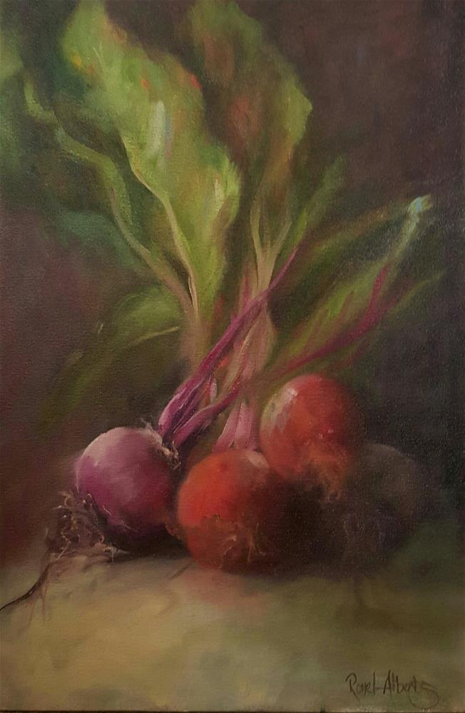 """BEETROOT FAMILY"" original fine art by Ronel Alberts"