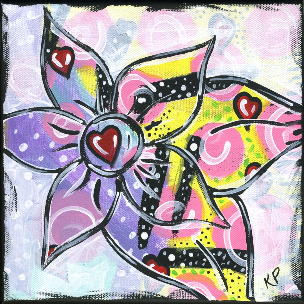 """Love..."" original fine art by Kali Parsons"