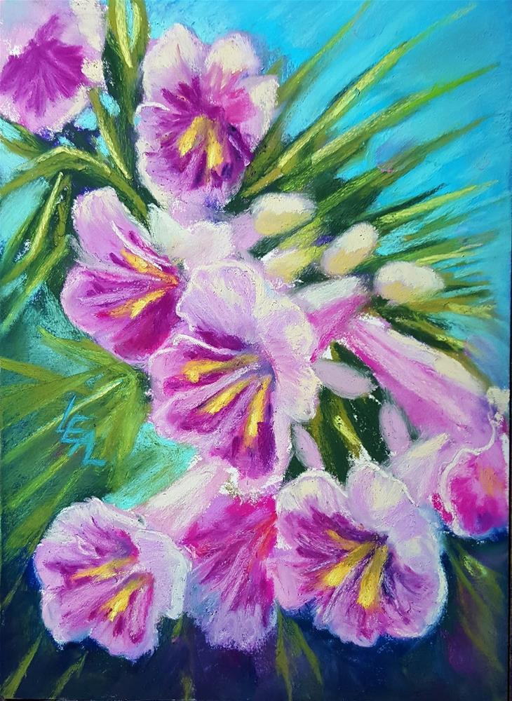 """""""Desert Willow"""" original fine art by Anna Lisa Leal"""