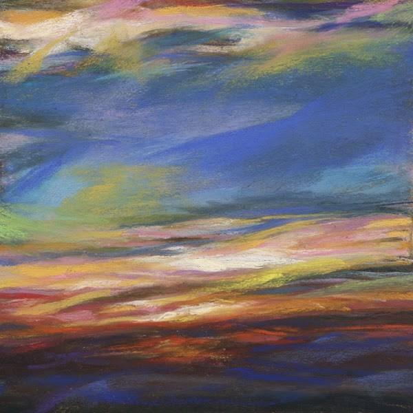 """ORANGE BEAUTY - 6 x 6 pastel by Susan Roden"" original fine art by Susan Roden"