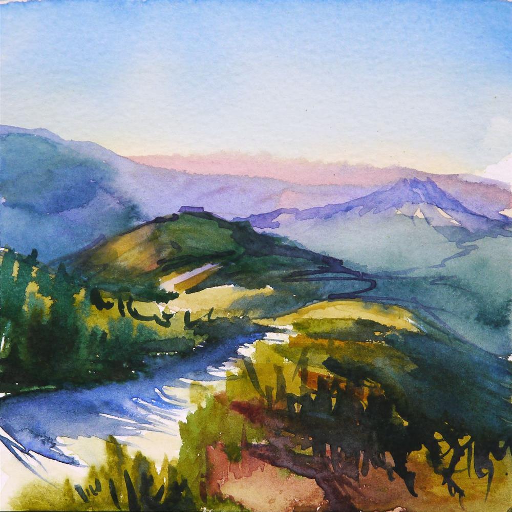 """trail"" original fine art by Beata Musial-Tomaszewska"