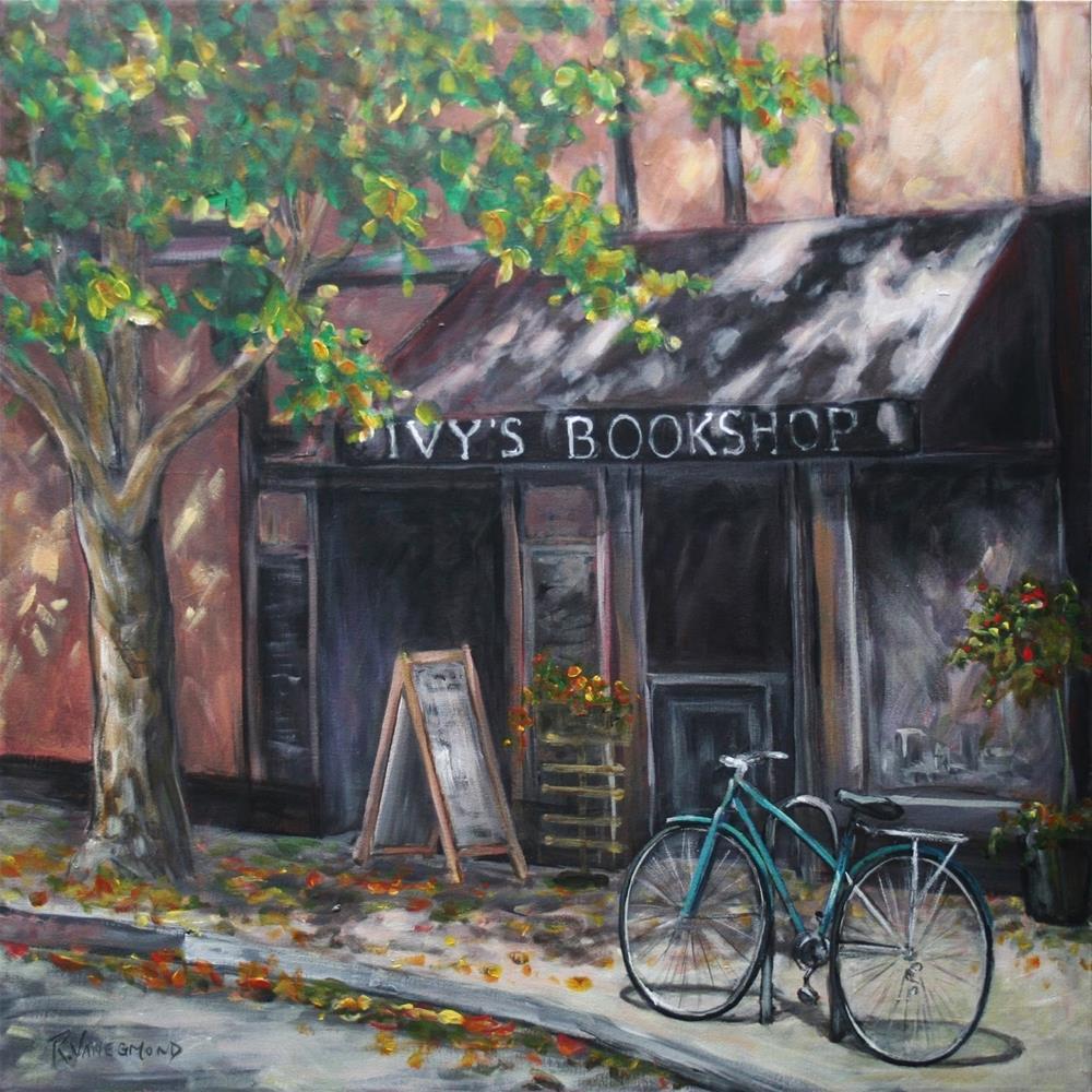 """""""Autumn In Oak Bay"""" original fine art by Ruth Van Egmond"""