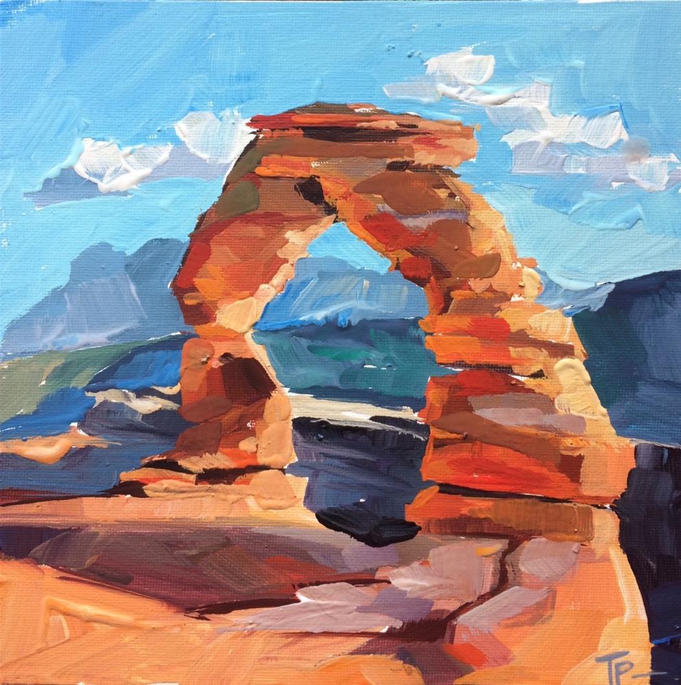 """""""Arches National Park"""" original fine art by Teddi Parker"""