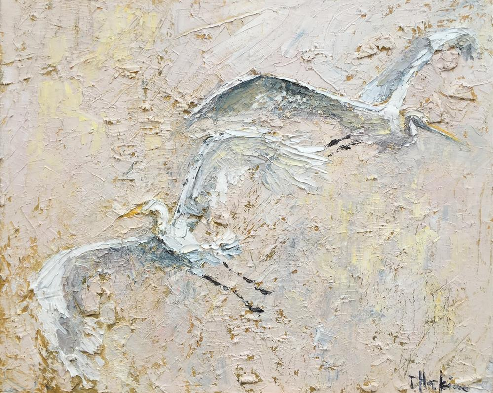 """Take Flight"" original fine art by Denise Hopkins"