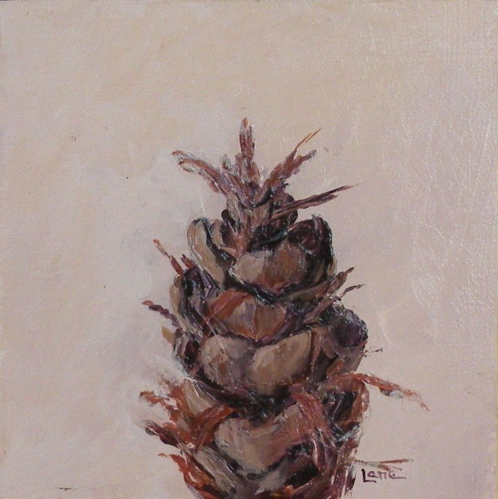 """LITTLE CONE"" original fine art by Saundra Lane Galloway"