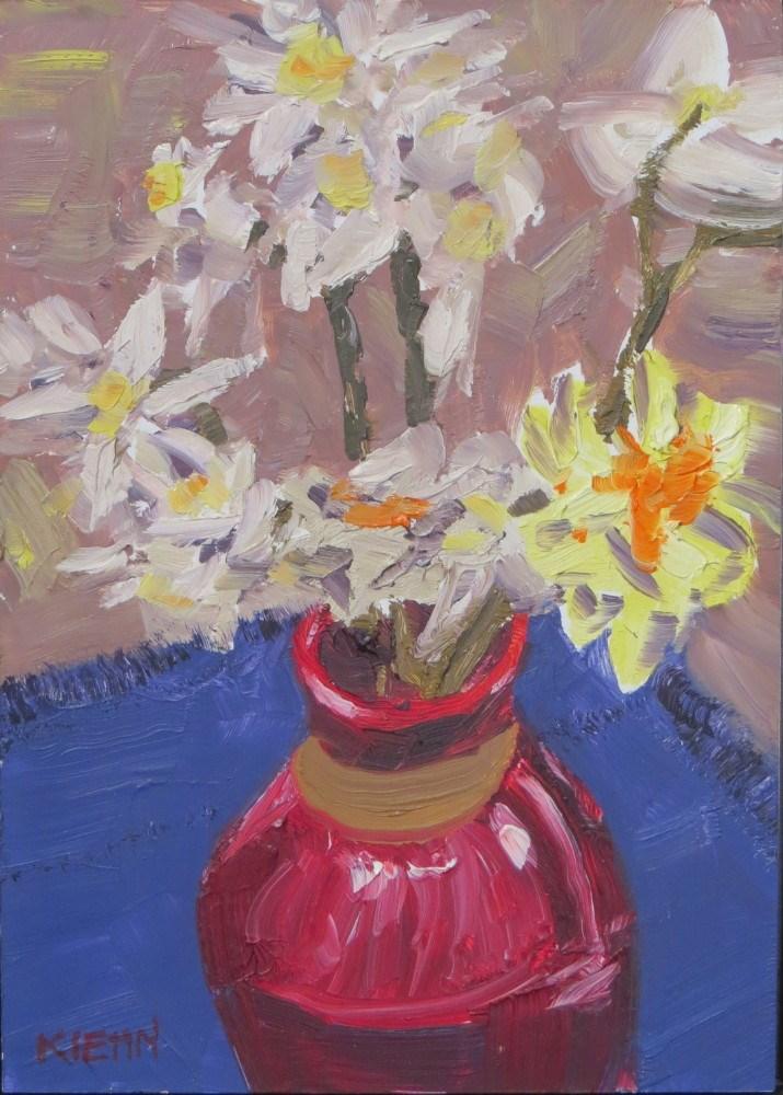 """Spring Color"" original fine art by Richard Kiehn"