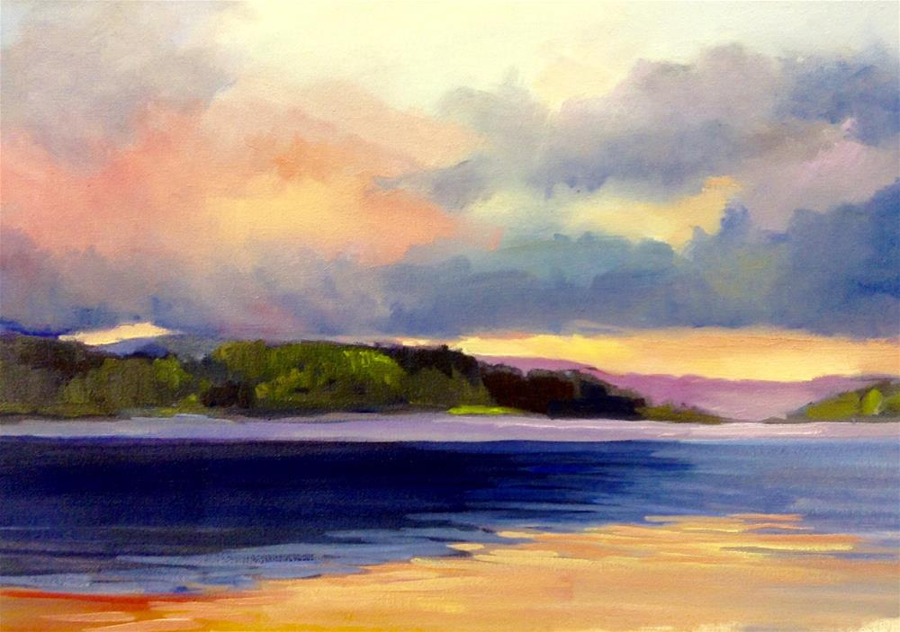 """Tranquility"" original fine art by Cathy Boyd"