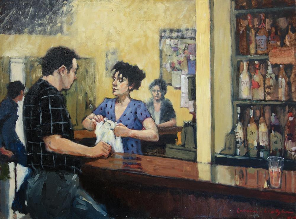 """Passing Through"" original fine art by Lorraine Lewitzka"