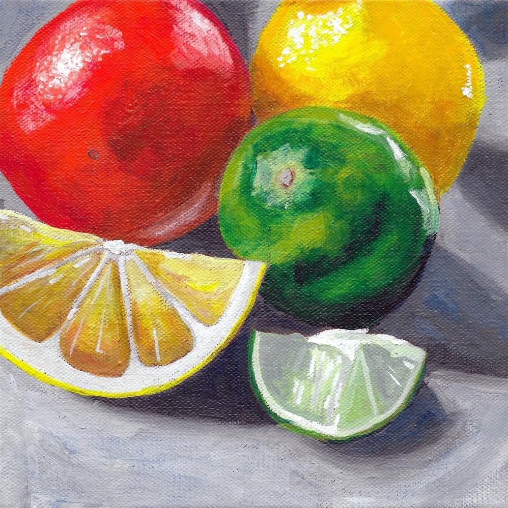 """Zesty #2"" original fine art by Lisa Wiertel"