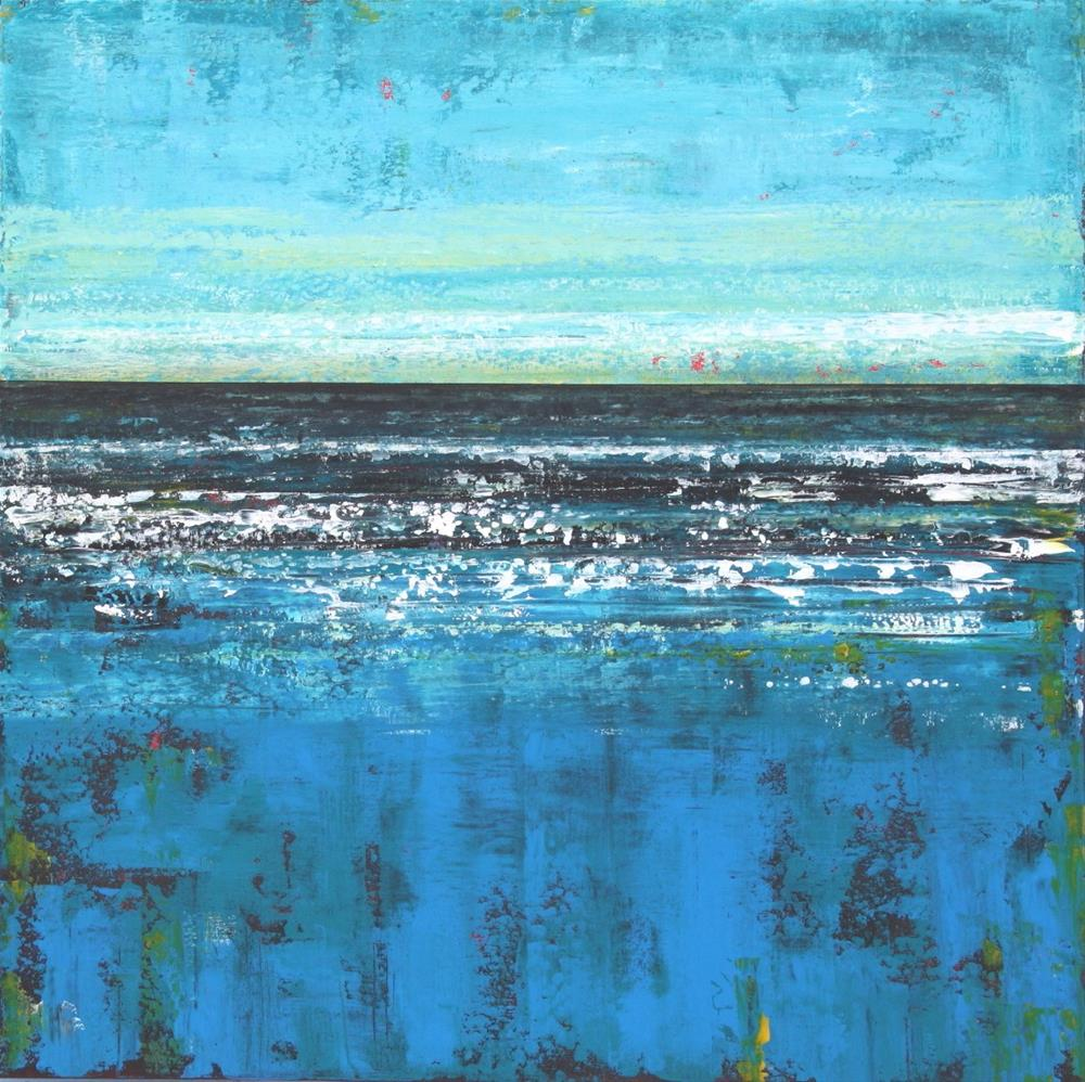 """Ocean"" original fine art by Sage Mountain"