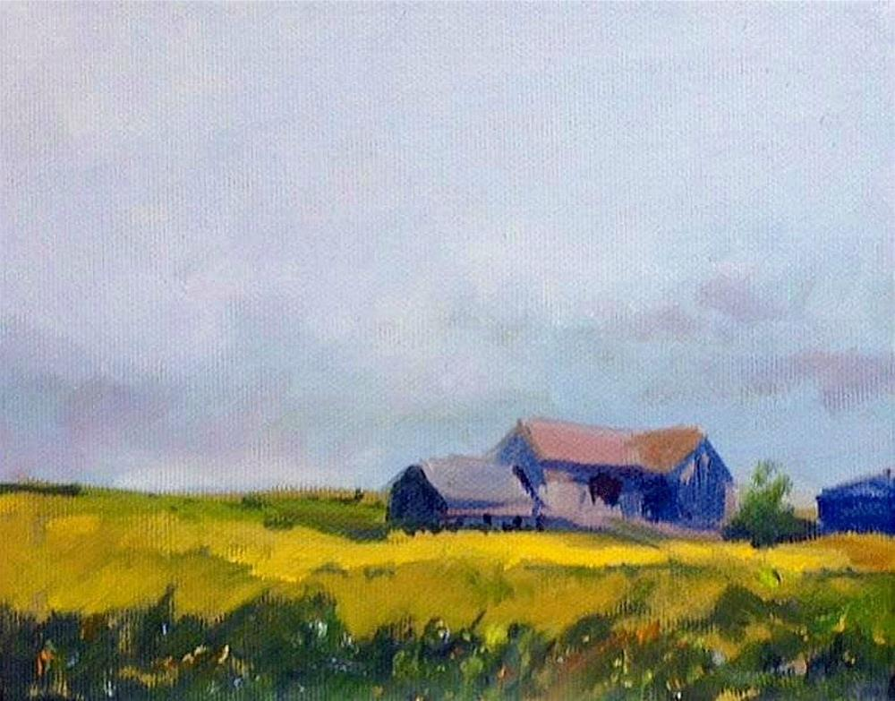 """L'il Bit of Country"" original fine art by Cathy Boyd"