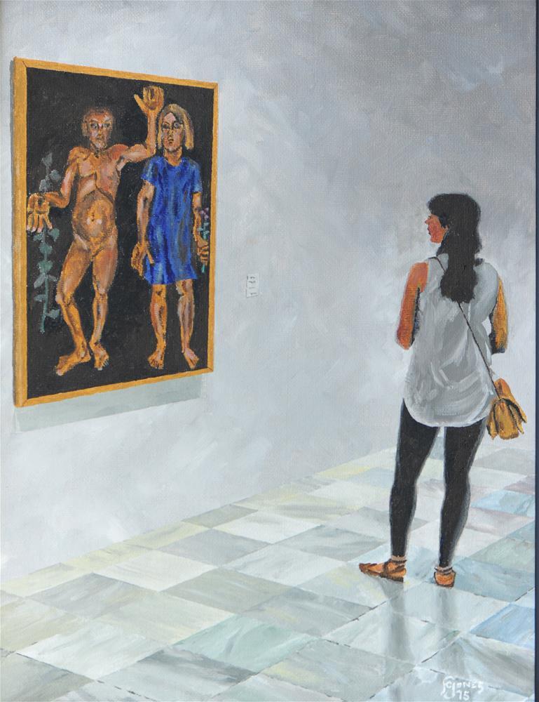 """Room 207"" original fine art by Fred Jones"
