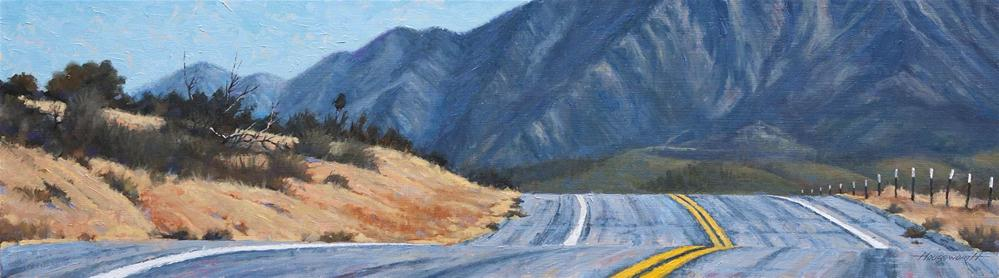 """Road Trip"" original fine art by Terry Houseworth"