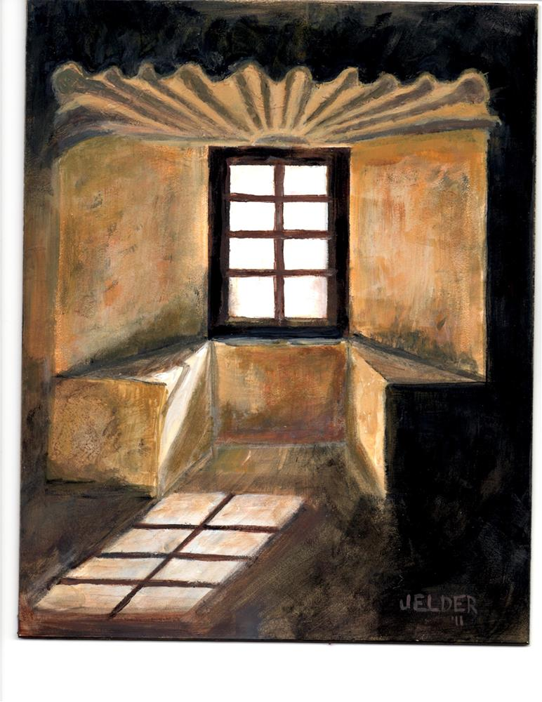 """Texas Window"" original fine art by Judith Elder"