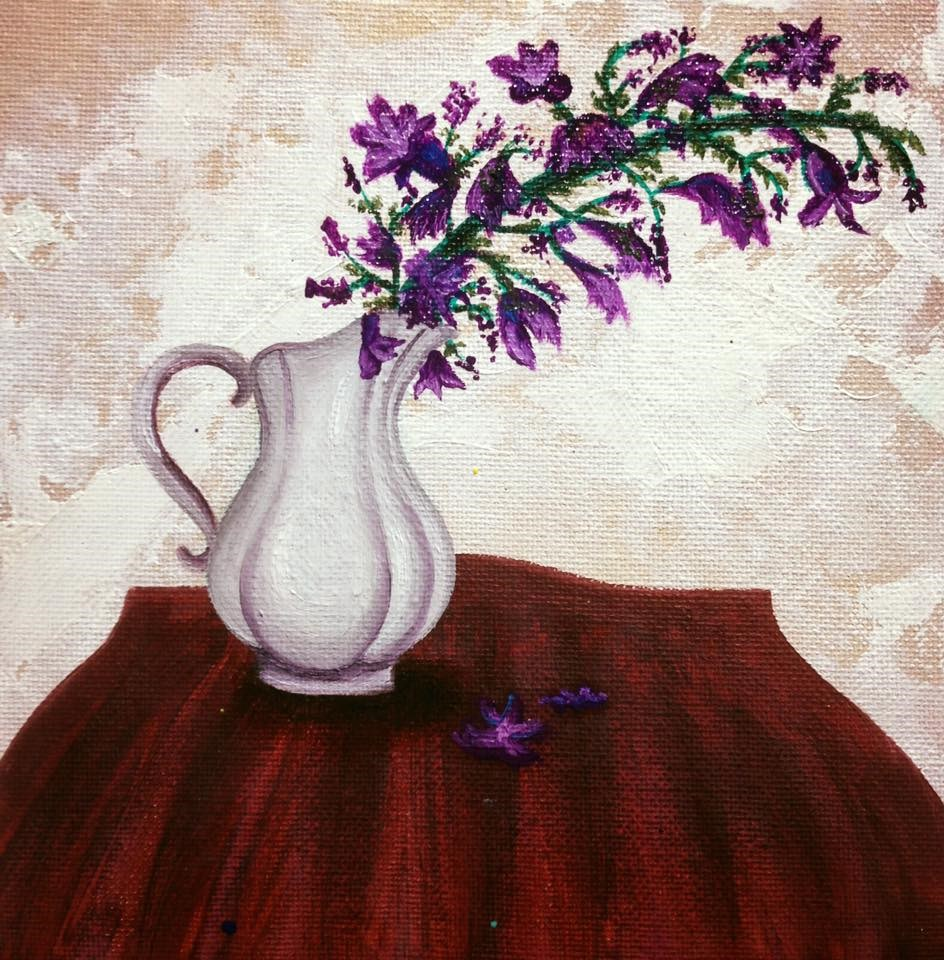 """Still Life"" original fine art by Tiffany Conn"