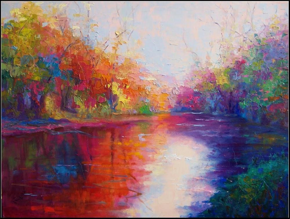 """""""September Sonata"""", 24x18, oil on linen by Maryanne Jacobsen original fine art by Maryanne Jacobsen"""