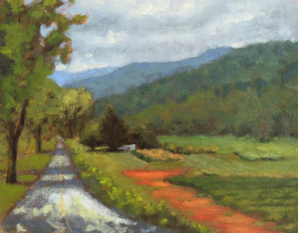 """The Road to Saluda"" original fine art by Colleen Parker"