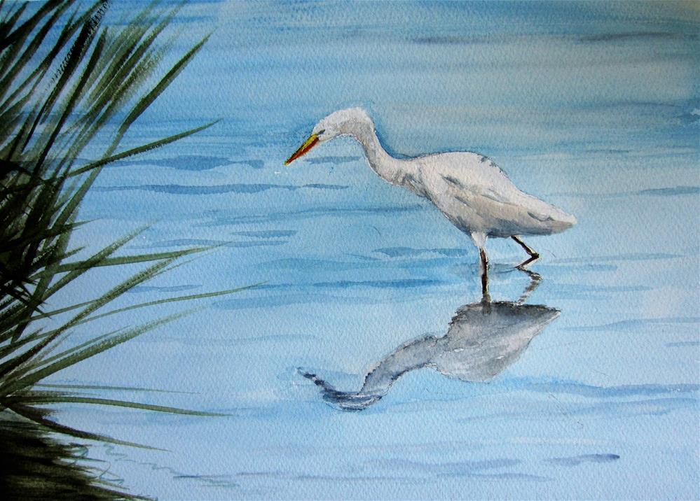 """Where's the fish?"" original fine art by Dolores Pettit"
