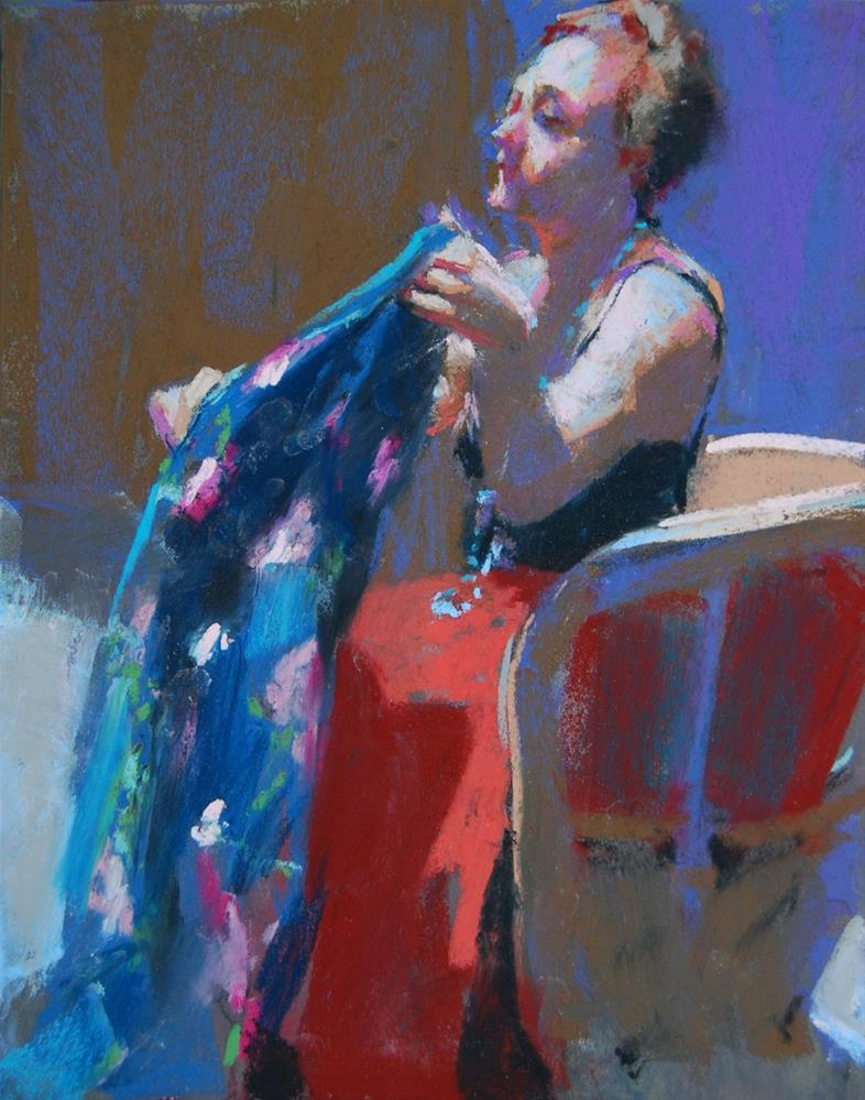 """Albuquerque Model"" original fine art by Margaret Dyer"