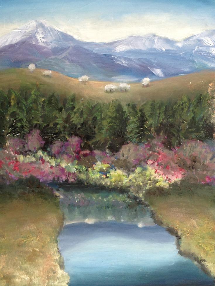 """somewhere"" original fine art by christina glaser"
