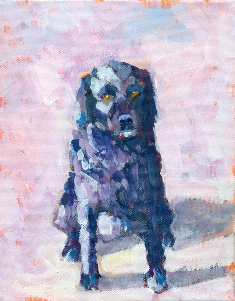 """sadie"" original fine art by Shelley Garries"